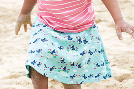 Gonna frugi con animaletti