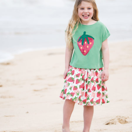 Frugi Gonna con Fragole